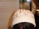 Mütze mit Eisblattmuster