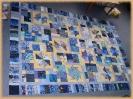 Blaue Quadrate Tausch