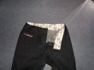 Jeans  dunkelgrau Bund Detail
