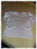 rasch ein weißes Shirt