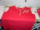 Shirt NESSA in pink, bestickt
