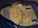 Probetasche - Frösche - Blick in die Tasche