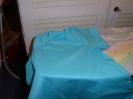 Und ein Shirt aus türkisem Jersey